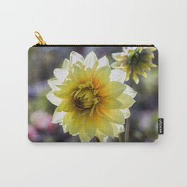 Dahlia In The Garden / 30 Carry-All Pouch