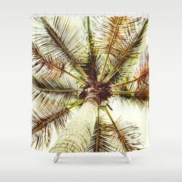 Perfect Palm Tree Shower Curtain