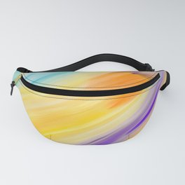 """""""Catch the Sun #1 – Sequel #2"""" Oil Painting Fanny Pack"""