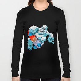 Skater yeti Long Sleeve T-shirt