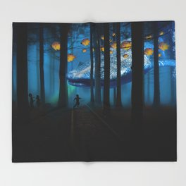 Dreamland Throw Blanket