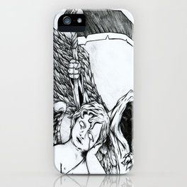 Death Is Everywhere iPhone Case