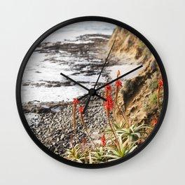 Laguna Beach being Beautiful Wall Clock