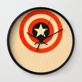 Captain America (Variant) Wall Clock