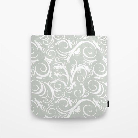 Floral Sea Salt Tote Bag