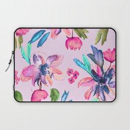 Flowers watercolour|Art print|Botanical art|Floral watercolor Laptop Sleeve