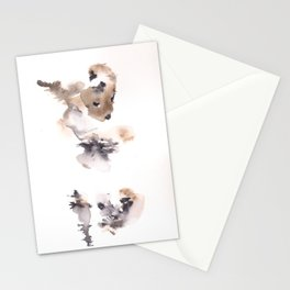 The Dancer - 151124  Abstract Watercolour Stationery Cards