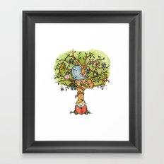 StoryTime Tree Framed Art Print