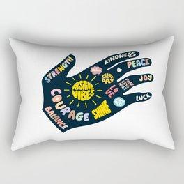 Positivity – Helping Hand Rectangular Pillow