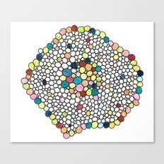 Color Cells Canvas Print