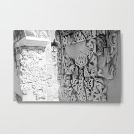 The Shining City Metal Print