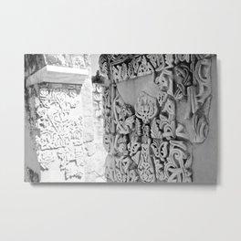 The Shining City Metal Print
