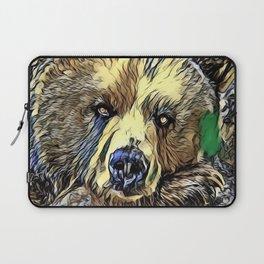 Animal ArtStudio 719 Bear Laptop Sleeve