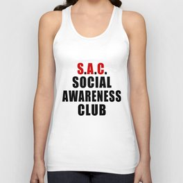 Social Awareness Club Unisex Tank Top