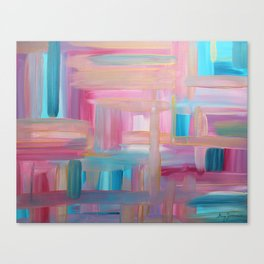 Sunset Abstract Canvas Print