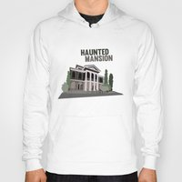 haunted mansion Hoodies featuring new Orleans square.. haunted mansion by studiomarshallarts