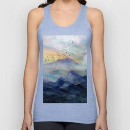 Mountain Sunrise Unisex Tank Top