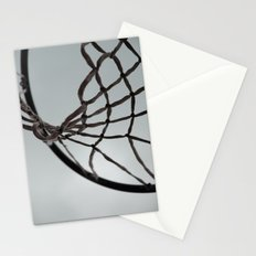 Basketball hoop Stationery Cards