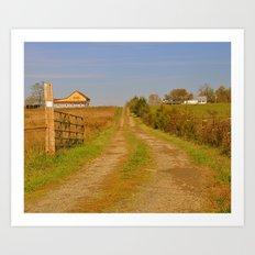 The Road Home Art Print