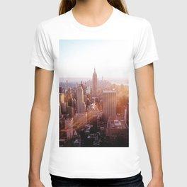 New York City Skyline - Vertical T-shirt