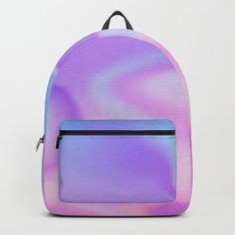 Holographic designs art Backpack