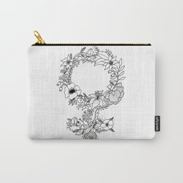 Feminist Flower  2.0 Carry-All Pouch
