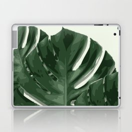 Monstera_Le_1 Laptop & iPad Skin