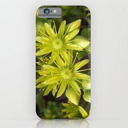 Blooming Green iPhone Case
