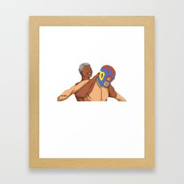 Full Nelson Mandela Framed Art Print