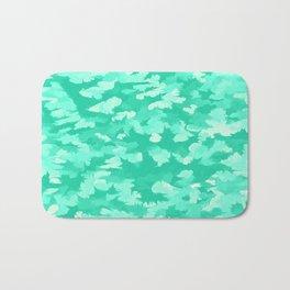 Foliage Abstract  Pop Art Aqua Bath Mat