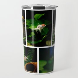 Goldfishes in the tank Travel Mug