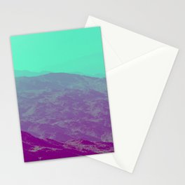 Palm Springs Mountains III Stationery Cards