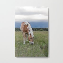 Blonde Beauty Metal Print