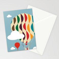 hot air ballon Stationery Cards