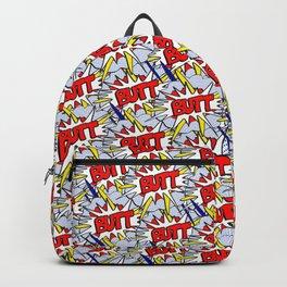 BUTT - Pop Art Style Backpack