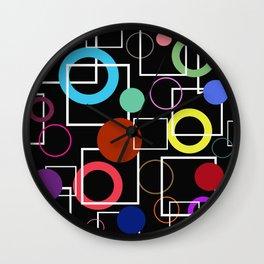 Geometric pattern 2 Wall Clock