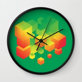 Fly Cube N1.1 Wall Clock
