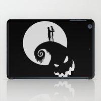jack skellington iPad Cases featuring Nightmare Jack Skellington by aleha