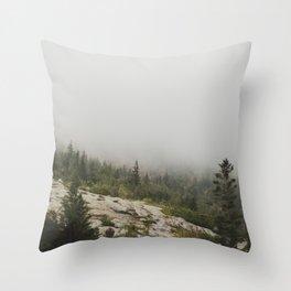 Hidden Mountain Throw Pillow