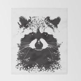 Trash Panda Throw Blanket