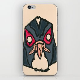 Falcon Face iPhone Skin