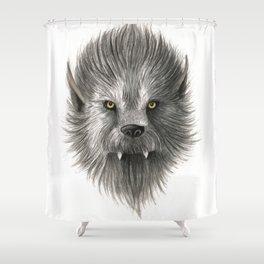 Werewolf beast Shower Curtain
