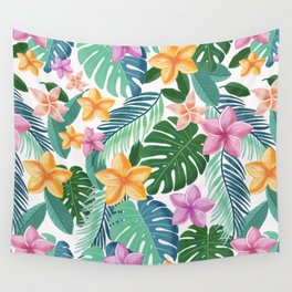Tropical summer vibes Wall Tapestry