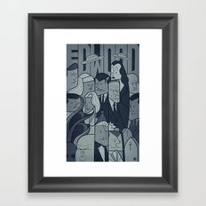 Ed Wood Framed Art Print