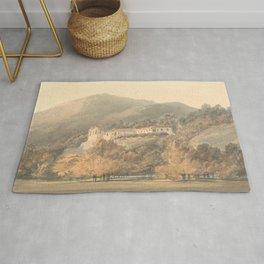 "J.M.W. Turner ""Santa Lucia, A Convent near Caserta"" Rug"