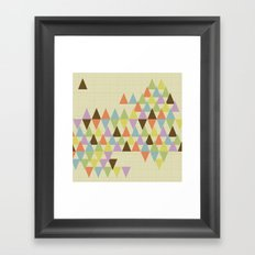 Bunting Framed Art Print