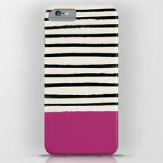 Raspberry x Stripes Slim Case iPhone 6s Plus