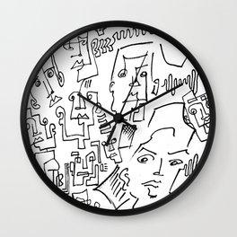 ten faced Wall Clock