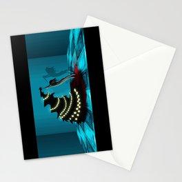 BLACK XMAS: Decorating the Christmas Tree Stationery Cards