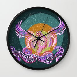 Sweet Air Phoenix Wall Clock